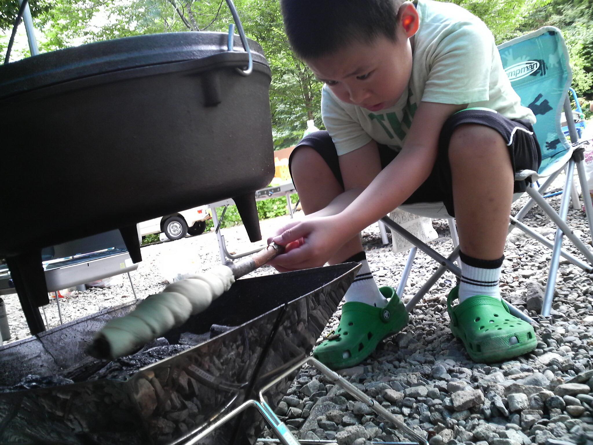 本格的なキャンプ