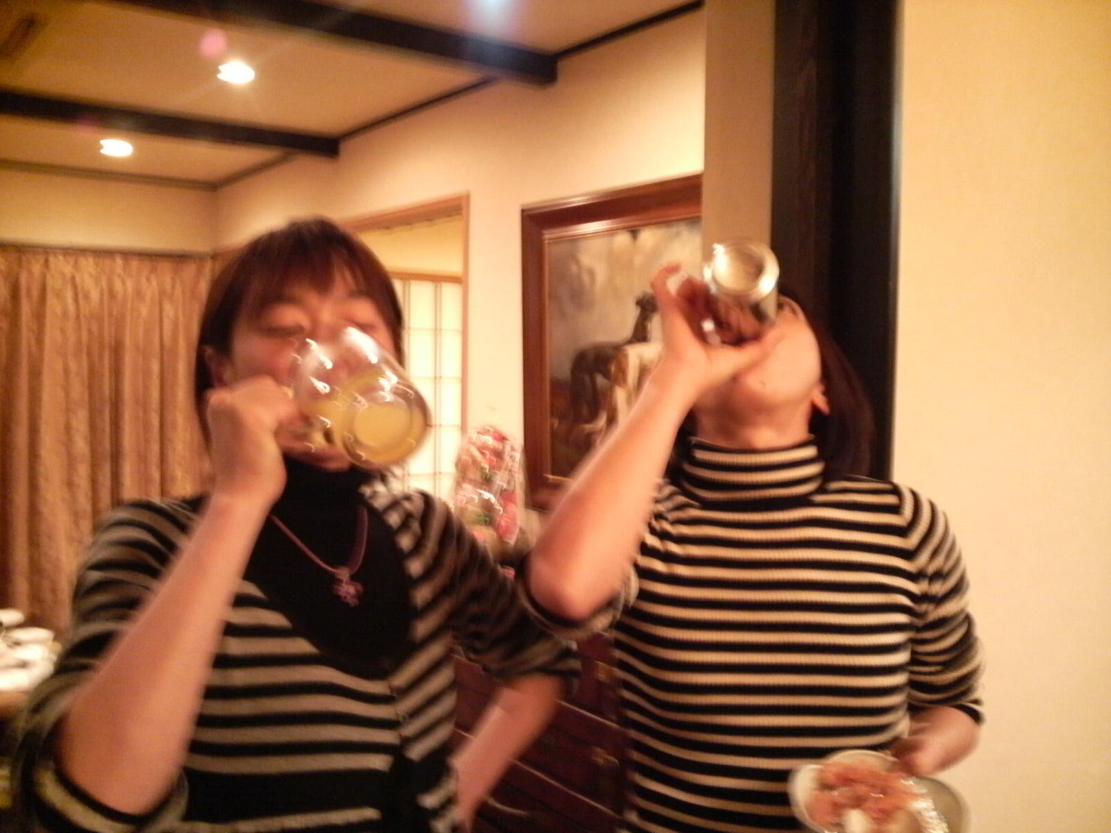 飲みまくり〜♪
