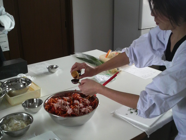 キムチ教室