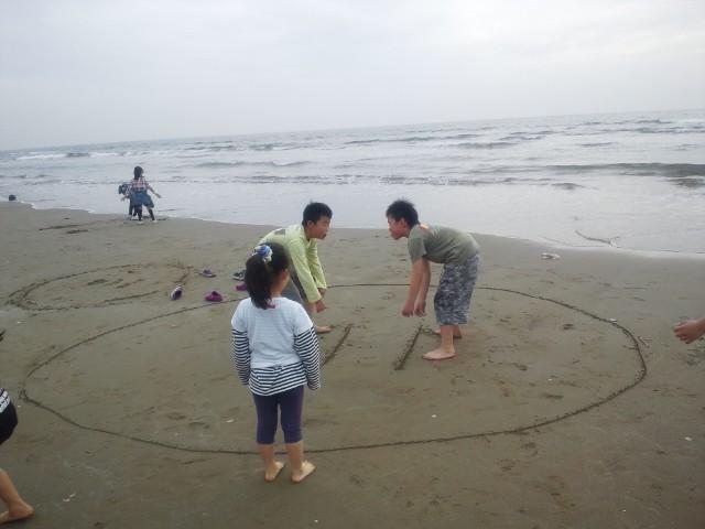 能登千里浜キャンプ場