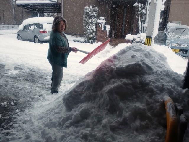 雪国だーっ!!