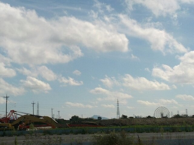 金華山が見えたよ