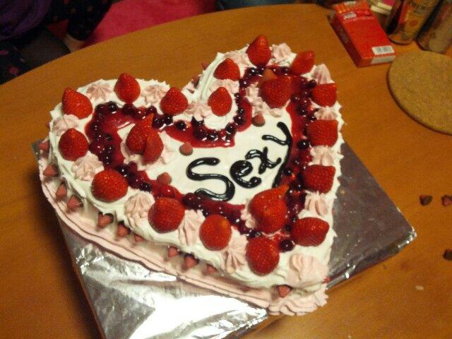 Sexyケーキ